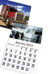 Calendar, Wall, Truck